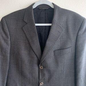 42R Jack Victor Lanzawood SPJ Wool Blazer Jacket